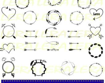 Arrows etsy off svg. Arrow circle frame clipart
