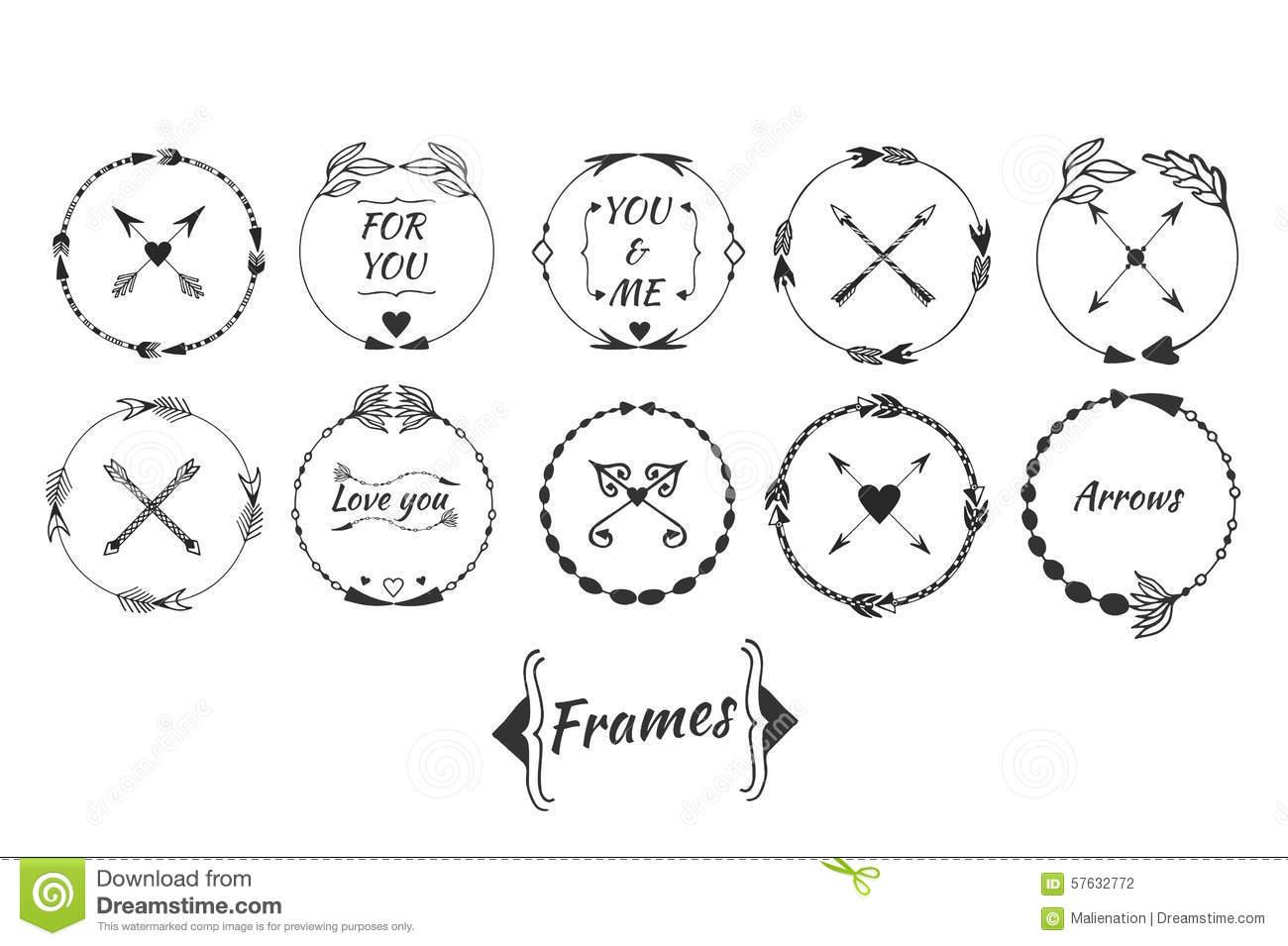 Arrow circle frame clipart. Clipartfox big set of