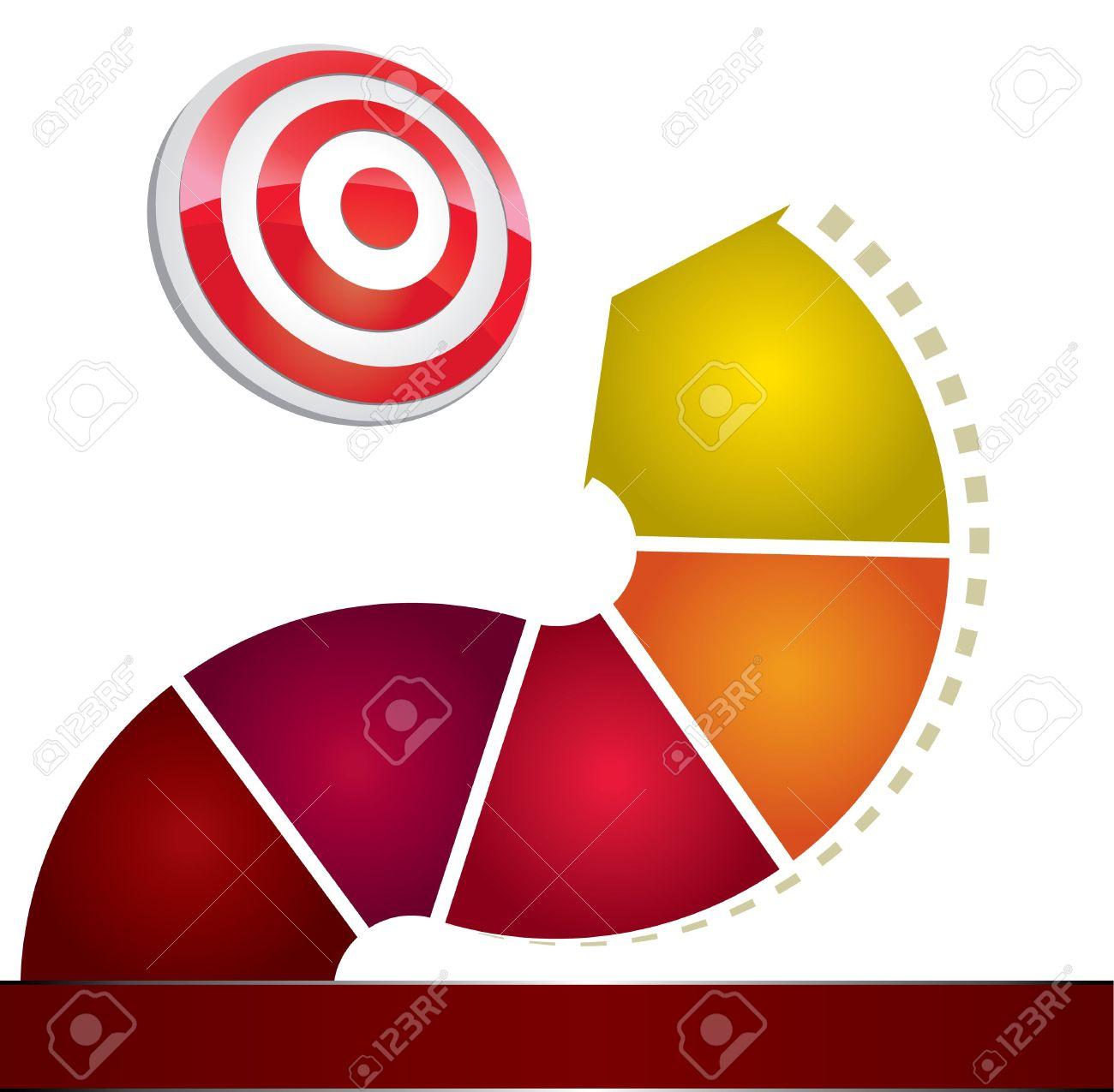 Arrow circle target clipart graphic transparent stock 3D Arrow Circle To Target Royalty Free Cliparts, Vectors, And ... graphic transparent stock