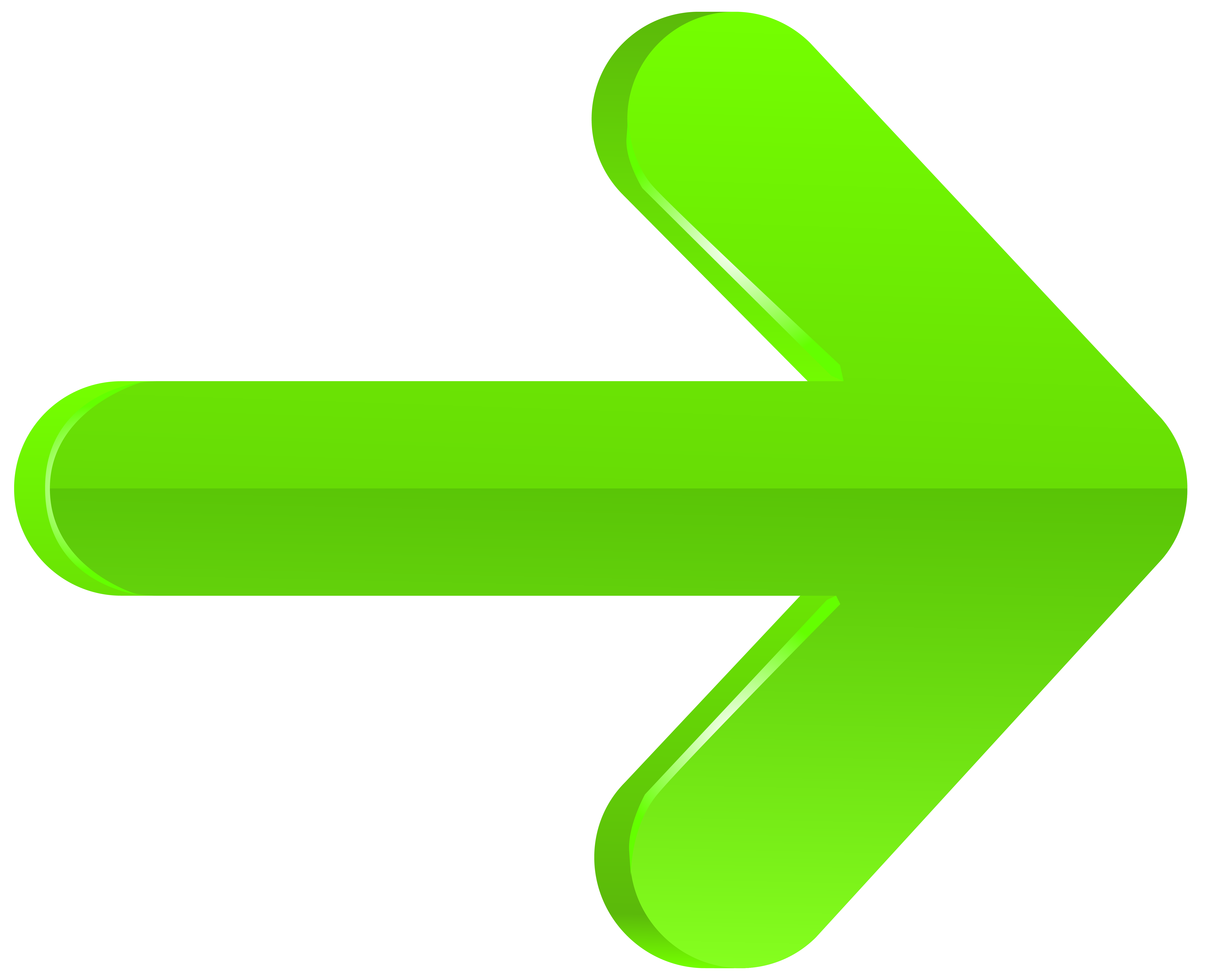 Green clipart at getdrawings. Arrow cliparts
