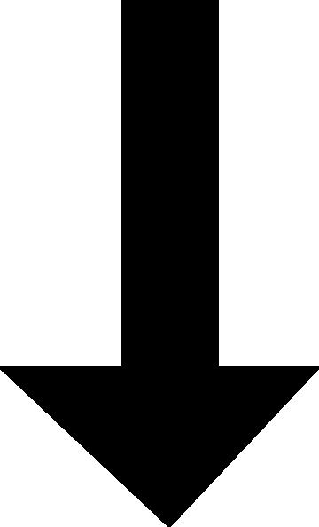 Arrow clipart black. Clipartfest downward clip art