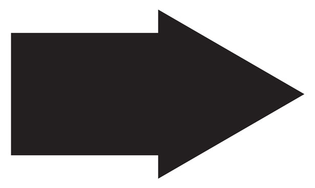 Clip art free stock. Arrow clipart black