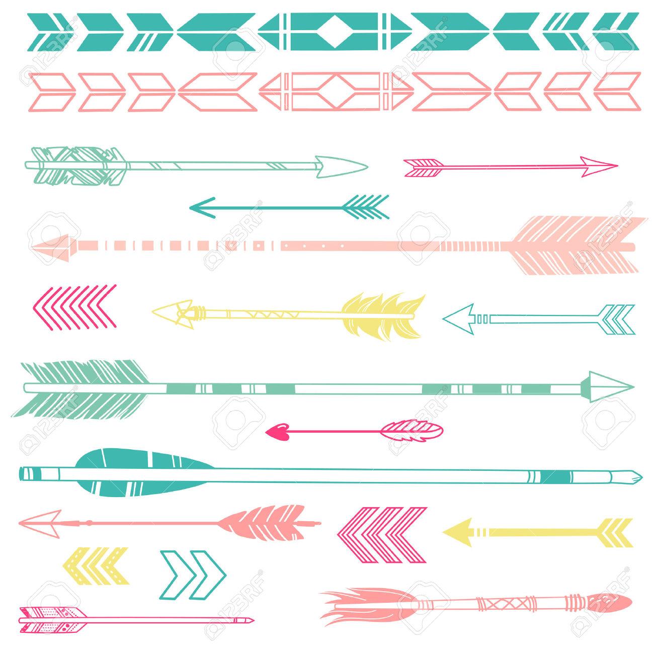 Arrow clipart cute clipart stock Indian Arrow Cute Clipart clipart stock