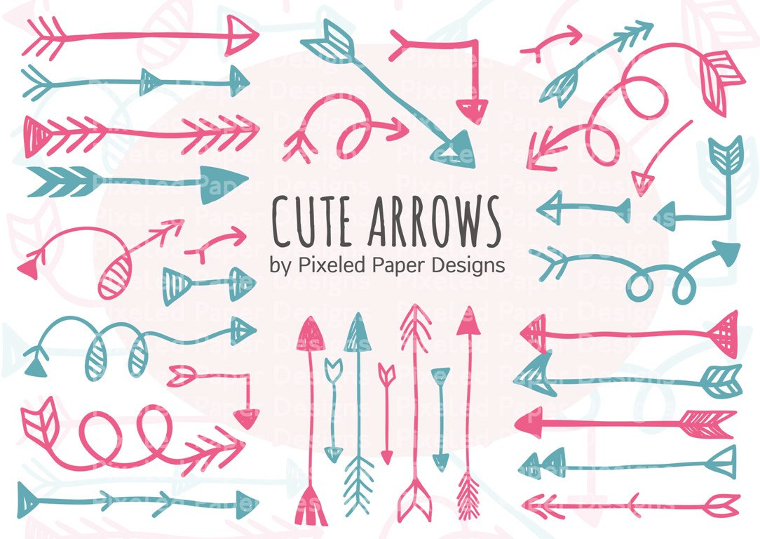 Arrow clipart cute banner library stock Free cute arrow clipart - ClipartFest banner library stock