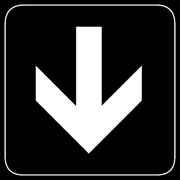 Arrow clipart down. Clip art images clipartall
