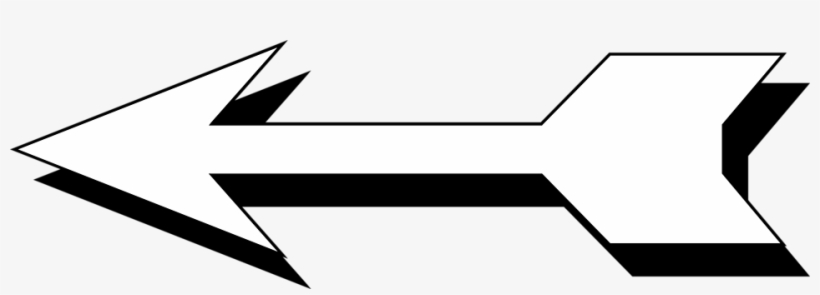 Arrow clipart free black and white transparent jpg royalty free library Arrow White Free Stock Photo Illustration Of A Left - Arrow Clip Art ... jpg royalty free library
