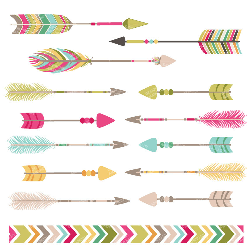 Arrow clipart free tribal graphic library Tribal arrow clipart png - ClipartFest graphic library