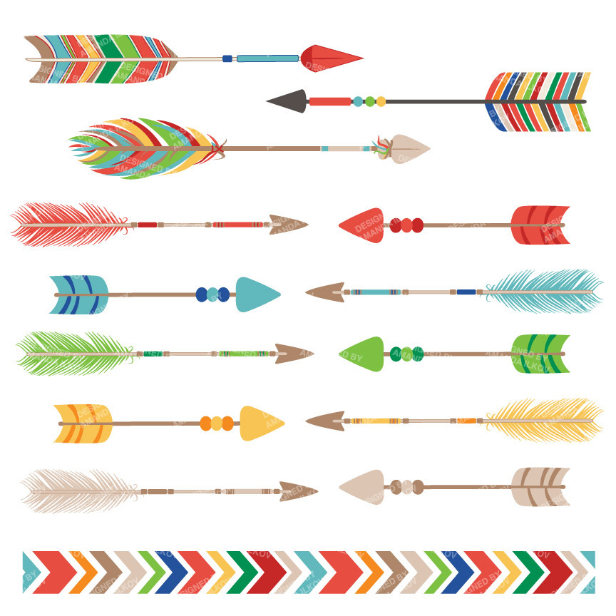 Arrow clipart free tribal svg transparent stock Tribal arrow clip art - ClipartFest svg transparent stock