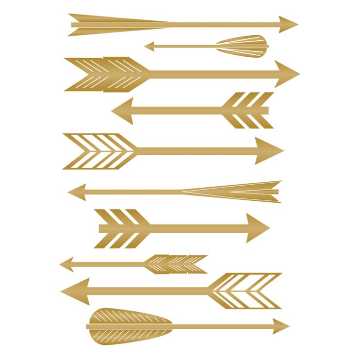 Arrow clipart gold feather freeuse stock Gold Arrow Clipart (101+ images in Collection) Page 2 freeuse stock