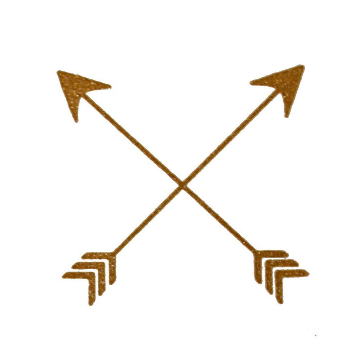 Arrow clipart gold feather picture free Tribal Arrow Clipart | Free download best Tribal Arrow Clipart on ... picture free