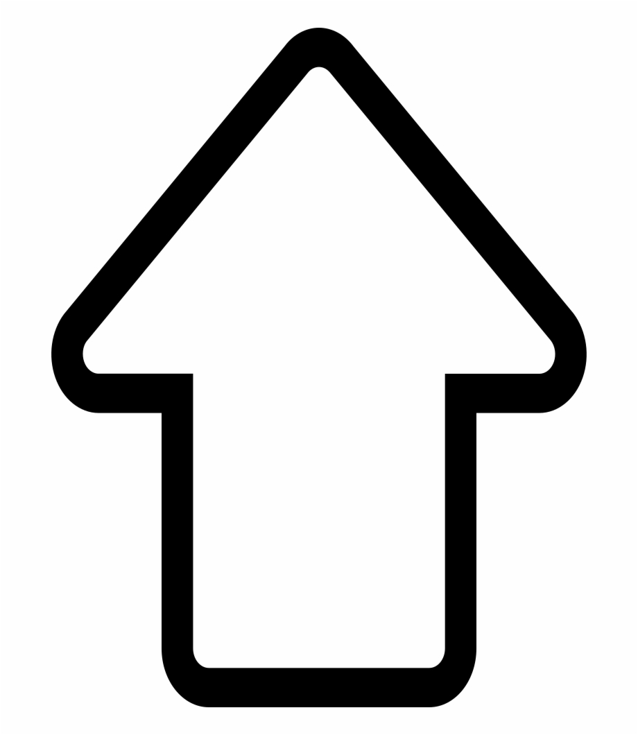 Arrow clipart growing in size png black and white library Up Arrow Png - Up Arrow Png White   Transparent PNG Download ... png black and white library