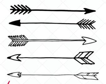 Arrow clipart svg. Clip art etsy arrows