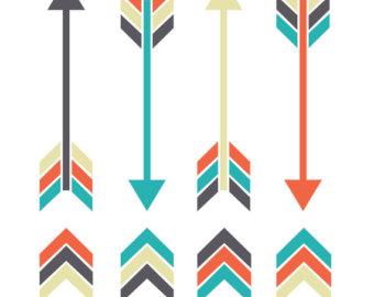 Arrow clipart tribal banner freeuse Tribal arrow clipart | Etsy banner freeuse