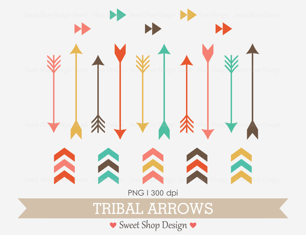 Arrow clipart tribal clip transparent library Tribal arrow clipart free - ClipartFest clip transparent library