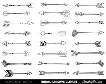 Arrow clipart tribal black and white jpg freeuse download 17 Best ideas about Tribal Arrows on Pinterest | Cool henna ... jpg freeuse download