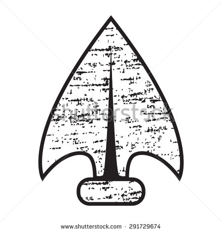 Arrow clipart with big arrow head image royalty free Indian Arrowhead Stock Images, Royalty-Free Images & Vectors ... image royalty free