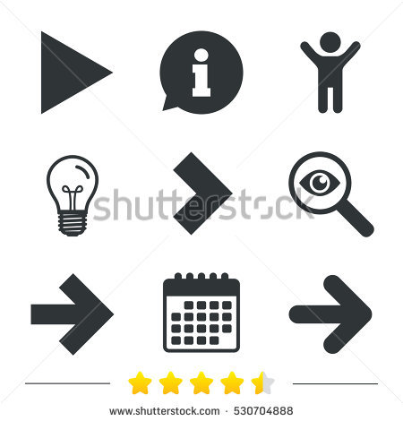 Stock images royalty free. Arrow clipart with big arrowhead