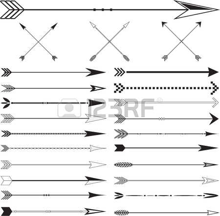 Indian stock photos pictures. Arrow clipart with big arrowhead