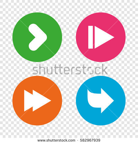 Arrow clipart with big arrowhead. Stock images royalty free