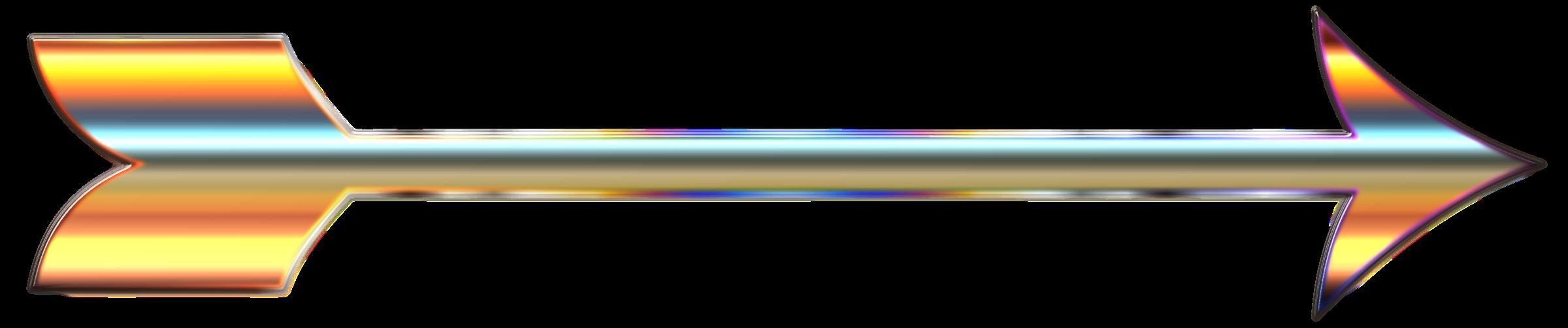 Arrow clipart with no background vector library stock Clipart - Chromatic Arrow Enhanced 2 No Background vector library stock