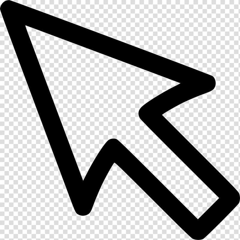 Arrow cursor clipart png Computer mouse Pointer Cursor Arrow Point and click, Computer Mouse ... png