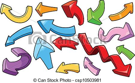 Vector of Cute Arrow Vector Set csp10503981 - Search Clip Art ... svg black and white download