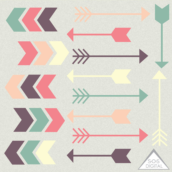 Arrow Clipart Clipart Arrows Cute Arrows Digital Arrows jpg free