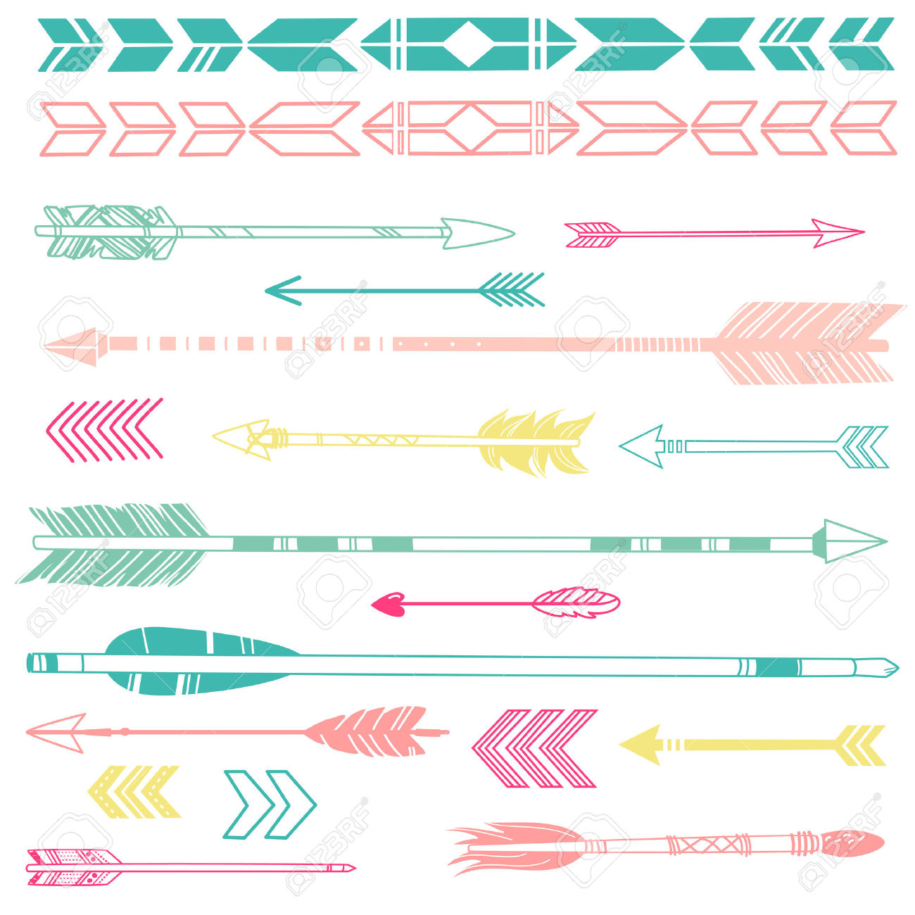 Cute arrow clipart - ClipartFest free stock