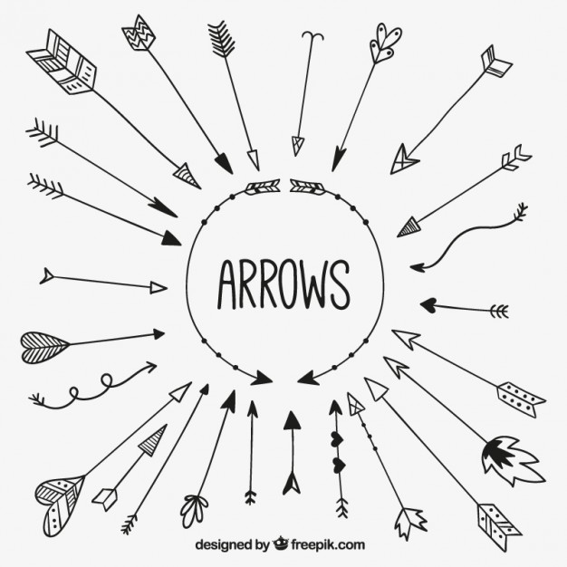 Arrow cycle clipart black and white clip art royalty free stock Arrow Vectors, Photos and PSD files | Free Download clip art royalty free stock