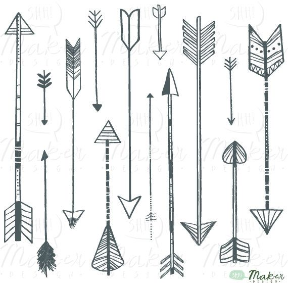 Arrow designs clip art graphic free library Arrow Designs Clipart - Clipart Kid graphic free library