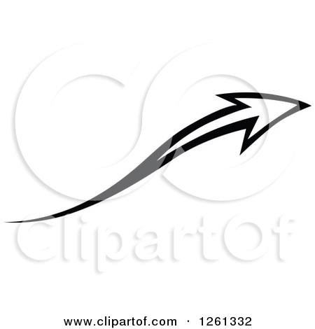 Arrow designs clip art clip art transparent stock Clipart of a Black and White Arrow Design - Royalty Free Vector ... clip art transparent stock