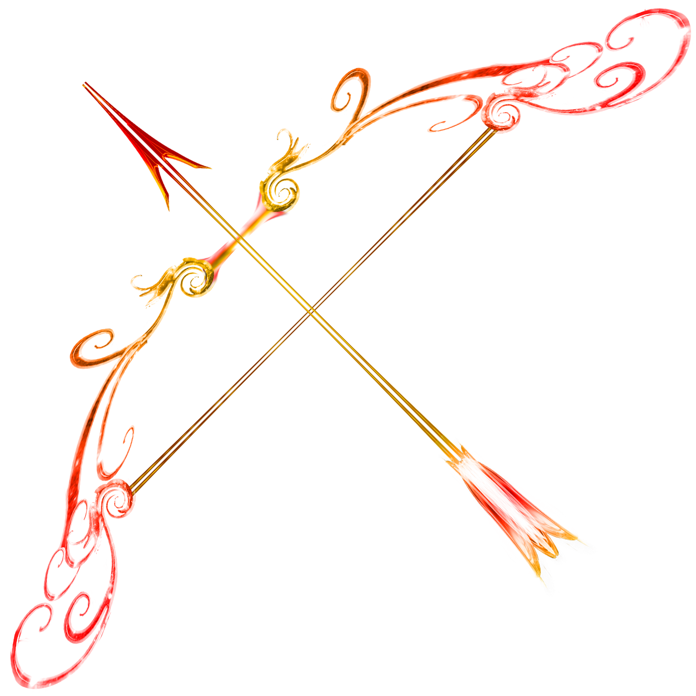 Arrow designs clip art jpg download Heres the Ruby Bow and Fire Opal Arrow Heres the full scale part of ... jpg download