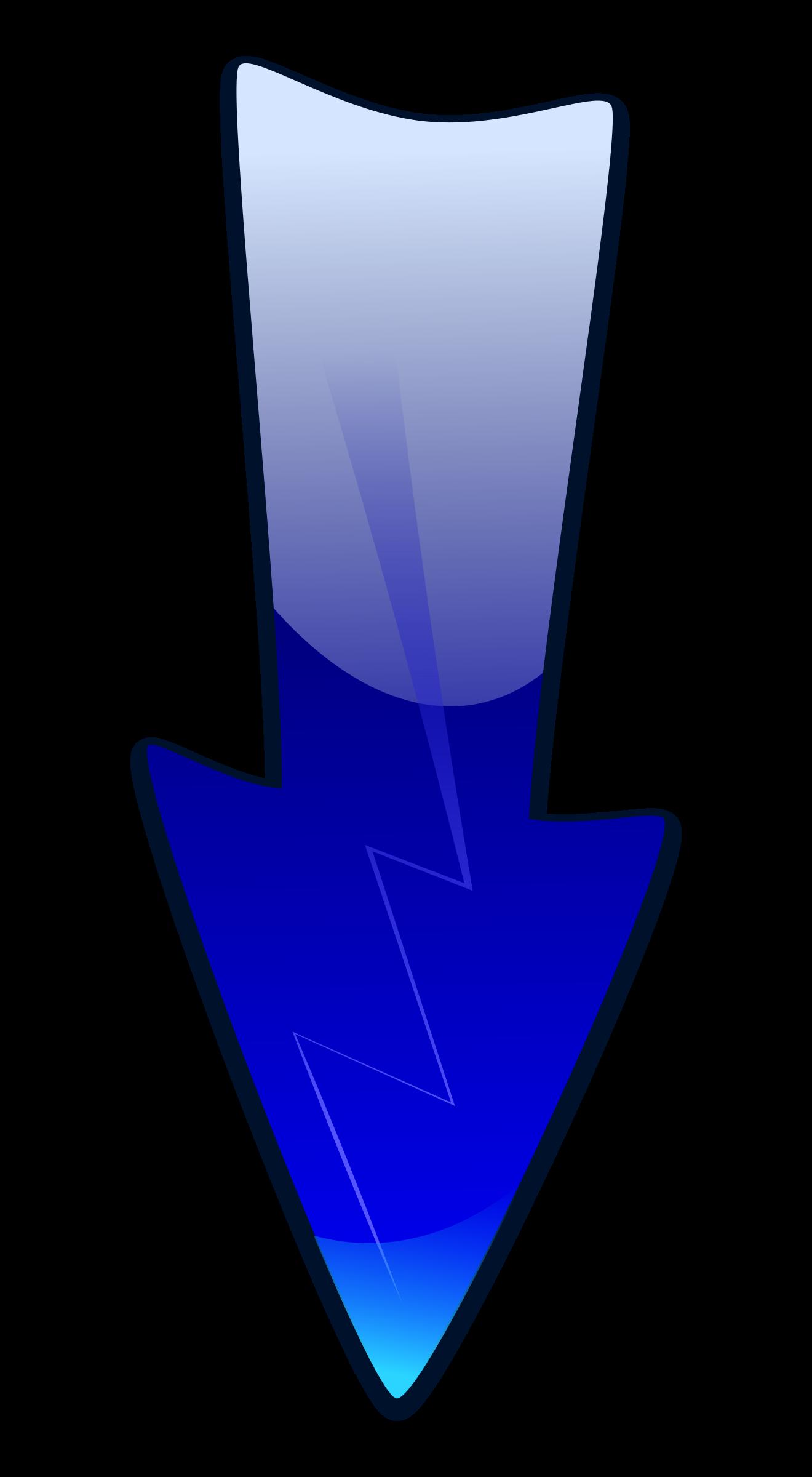 Clip art down arrow png transparent download Clipart - Long Arrow Down png transparent download