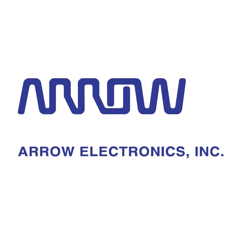 Arrow electronics. Free vector