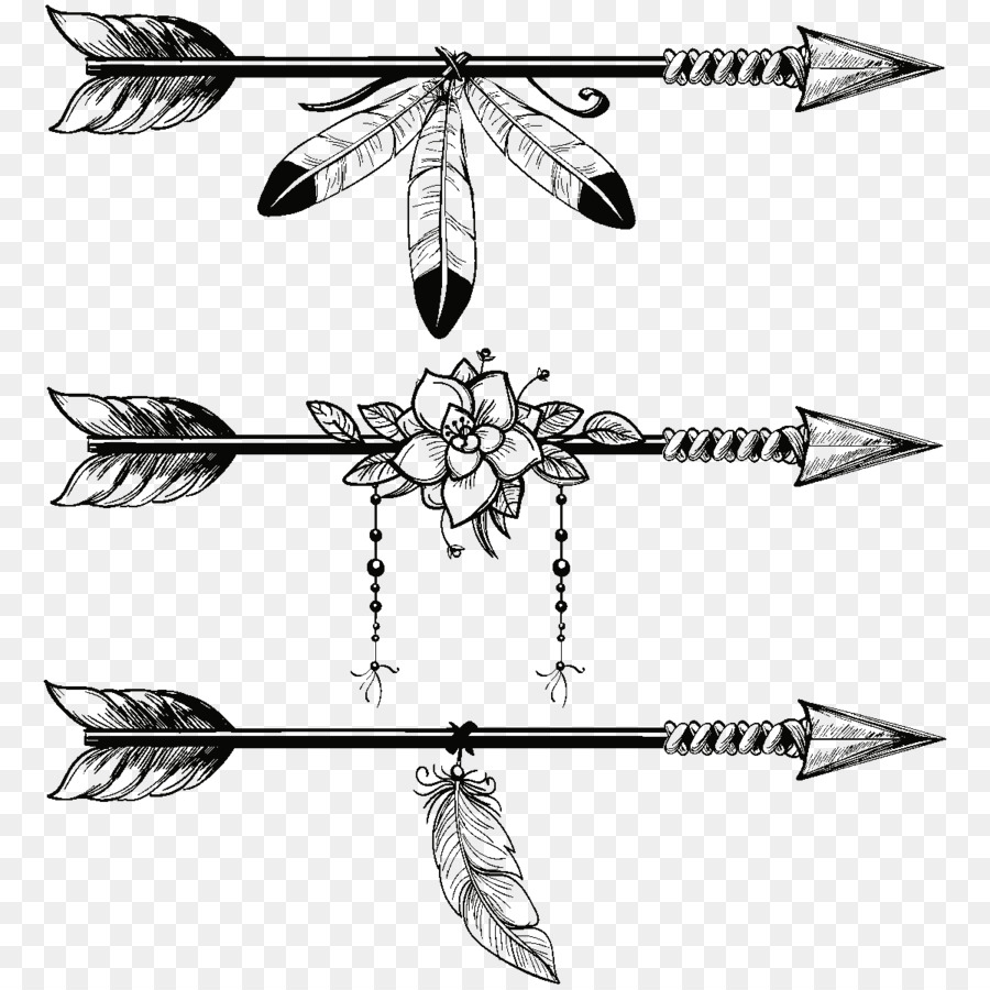 Arrows and feathers clipart clipart free Line Art Arrow clipart - Feather, Illustration, Arrow, transparent ... clipart free
