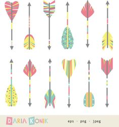 Arrow feather images clipart picture library library Arrow fletching clipart - ClipartFest picture library library