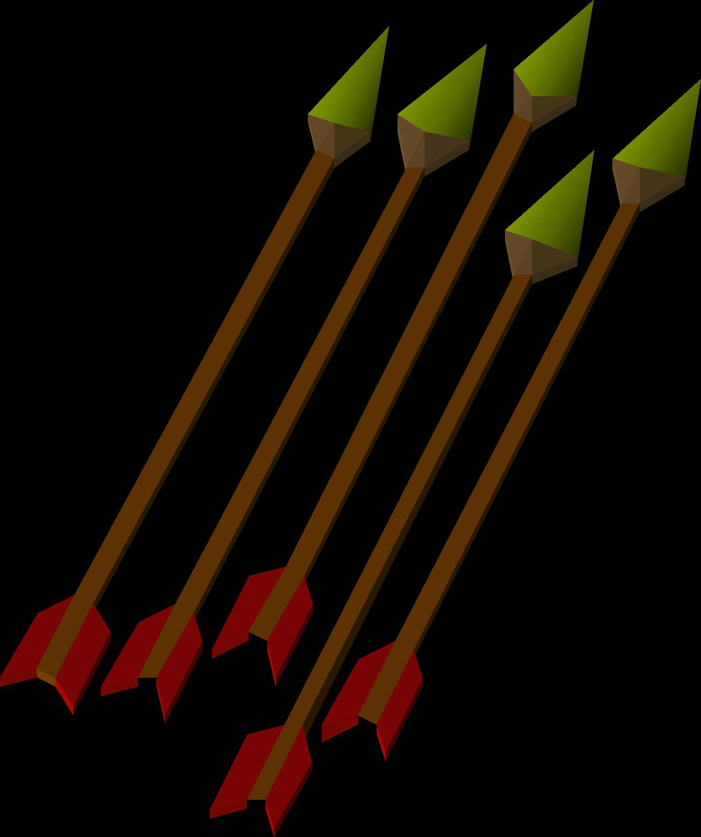 Arrow fletch clipart black jpg free download Bronze arrow | Old School RuneScape Wiki | FANDOM powered by Wikia jpg free download