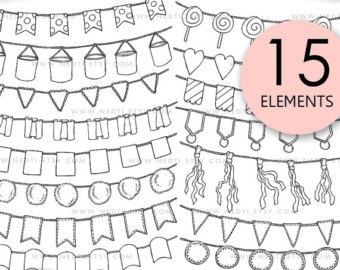Arrow garland clipart png free 35 Hand Drawn Arrows Clip Art, Whimsical Arrow Doodle Clipart ... png free