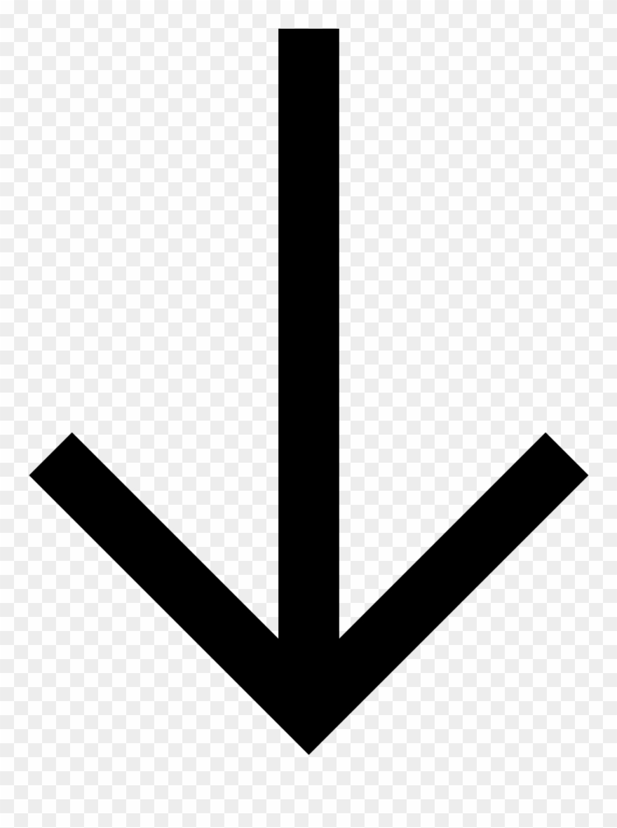 Arrow pointing down clipart png free library Clipart Of Arrows Pointing Down Cliparts - Arrow Down Svg - Png ... png free library