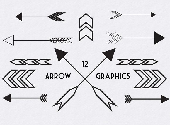 Arrow graphic free picture library Arrows graphic - ClipartFest picture library