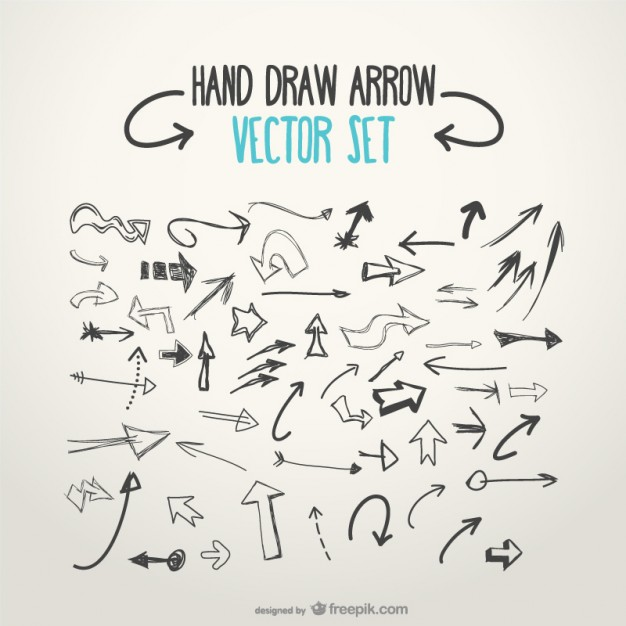Arrow graphic free png download Hand Drawn Arrows Vectors, Photos and PSD files | Free Download png download