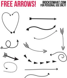 Arrow graphic free clipart black and white library Free arrow graphic - ClipartFest clipart black and white library