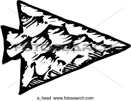 Arrow head clip art jpg black and white library Arrowhead Clipart Royalty Free. 5,558 arrowhead clip art vector ... jpg black and white library