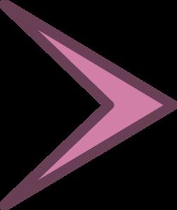 Small right arrowhead clip. Arrow head clipart