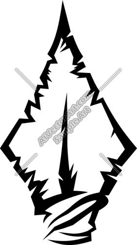 Arrow head clipart. Arrowhead clipartfest vector clip