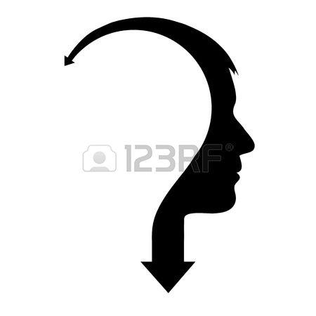 Arrow head clipart.  stock vector illustration