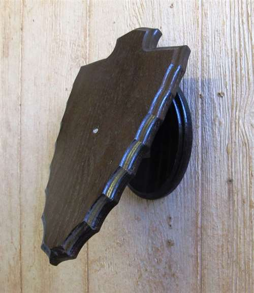Arrow head mount plaque clipart