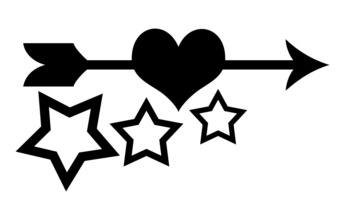 Arrow heart silhouette clipart picture free Free Arrow Silhouette Cliparts, Download Free Clip Art, Free Clip ... picture free