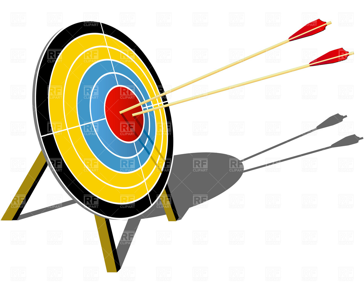 Arrow hitting target clipart image freeuse library Hit the target clipart - ClipartFest image freeuse library