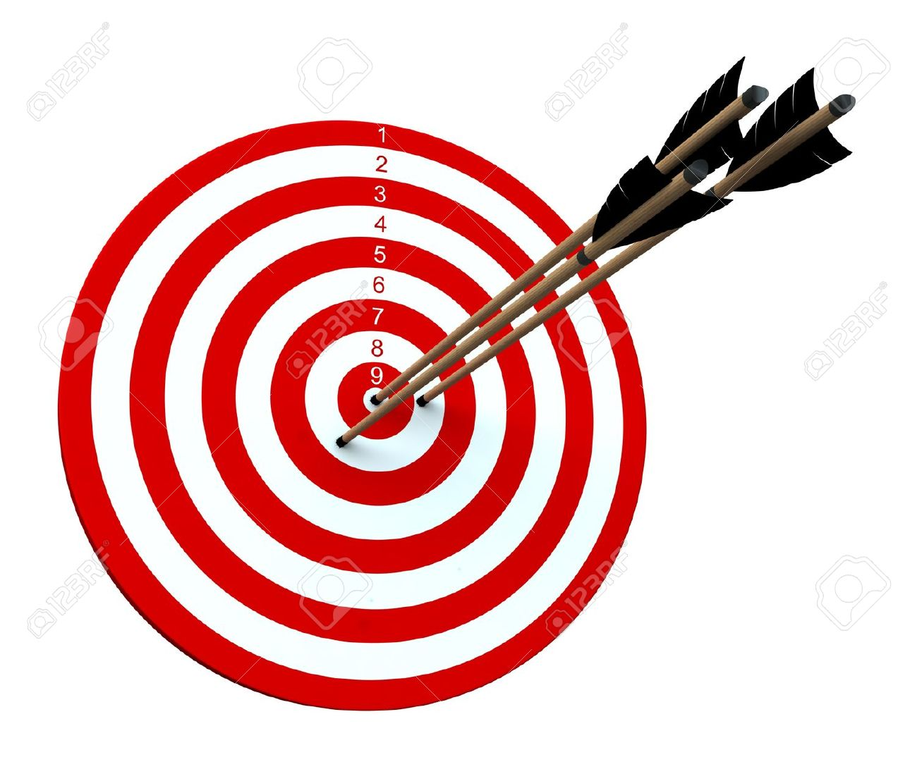 Arrow hitting target clipart royalty free download Target with arrow clipart - ClipartFest royalty free download